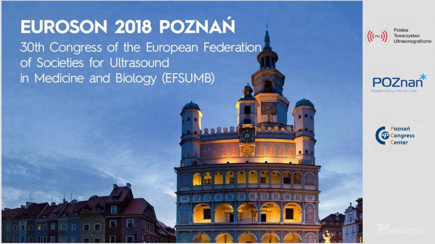 EUROSON 2018 wPoznaniu od6 do9 września 2018