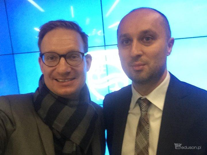 Mateusz Kosiak, Tomasz Batko, kurs mobilnej ultrasonografii PHILIPS LUMIFY