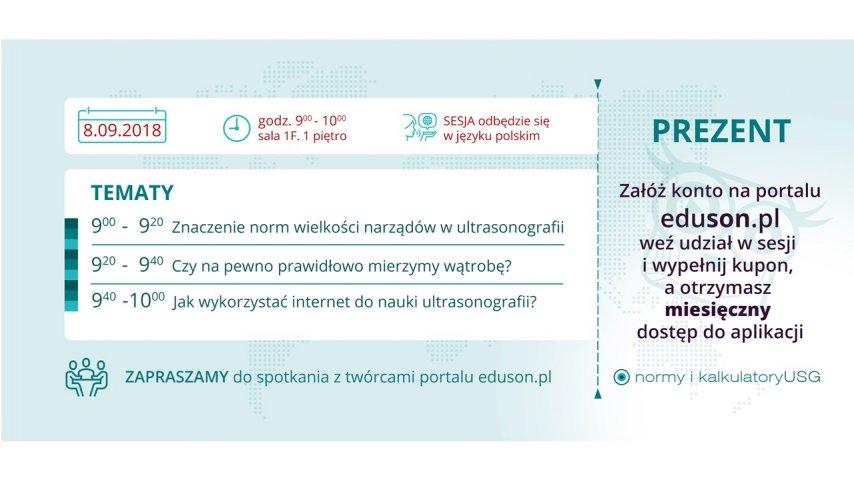 sesja eduson.pl podczas Kongresu EUROSON 2018!