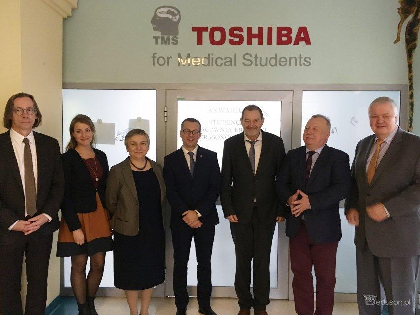 Otwarcie nowej Studenckiej Pracowni Edukacji Ultrasonograficznej wGdańsku