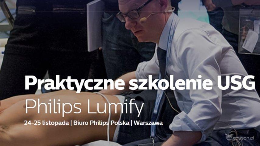 Praktyczne szkolenie USG Philips Lumify 24-25 listopada, Biuro Philips Polska, Warszawa