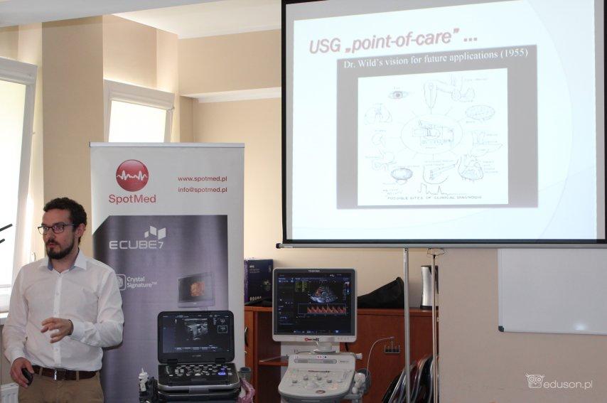 Cykl szkoleń USG dla lekarzy rezydentów wSzpitalu Dziecięcym Polanki wGdańsku