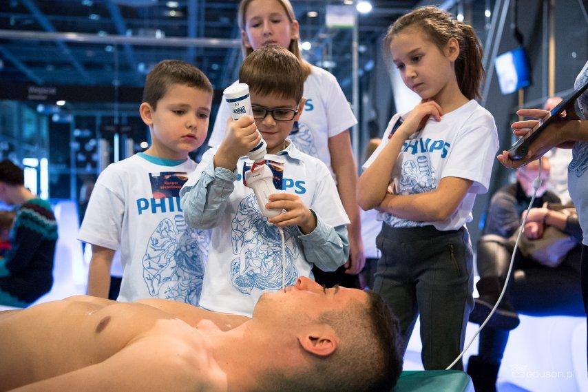 Warsztaty Dziecinnie proste USG zmobilnymi aparatami usg Philips Lumify.