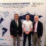Krystian Sporysz, lekarz stażysta z Gdańska, nagrodzony podczas 15. Kongresu WINFOCUS w Dubaju - Portal wymiany wiedzy o ultrasonografii - Eduson