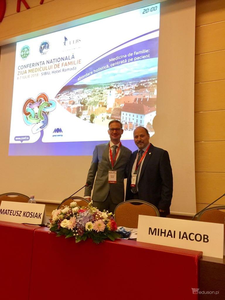 Ultrasonografia wSybinie, Rumunia 2018, Conferinta Nationala Ziua Medicului de Familie