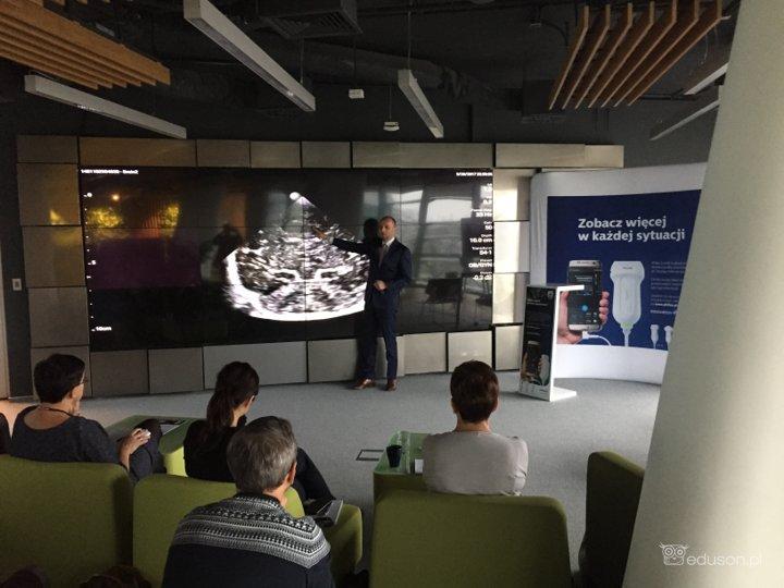 praktyczne szkolenie USG Philips Lumify